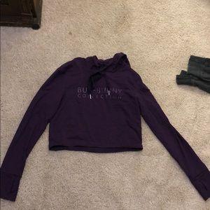 Buffbunny cropped sweatshirt